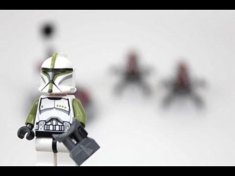 Lego Star Wars Clones vs Droidekas ▶ Lego Star Wars Clone