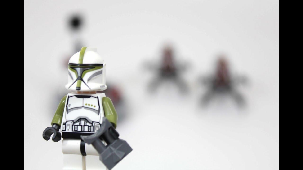 Lego Star Wars Clones vs Droidekas Lego Star Wars Clone Troopers