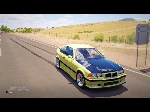 Forza Horizon 3| 760HP 1997 BMW M3 [Drag Build]