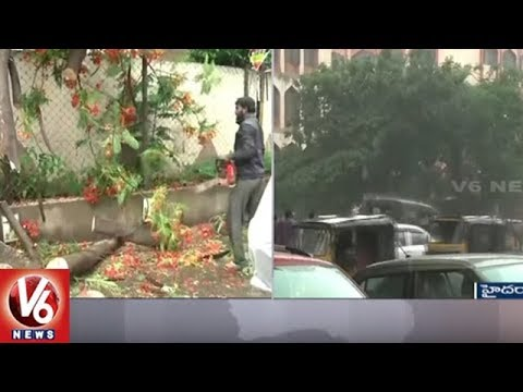 Rains In Hyderabad: City Police Alerts GHMC And Water Works Depot Workers | V6 News