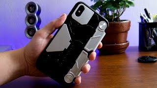 Crazy iPhone Xs Max GAMING CASE! FYY Game Case With Game Grips & Kickstand