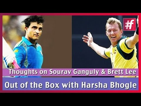 Battle Between Sourav Ganguly And Brett Lee : Must watch