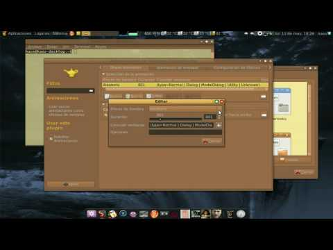 efecto animaciones de compiz en ubuntu