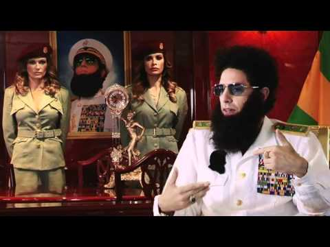 The Dictator (Sacha Baron Cohen) with Fitzy and Wippa UNCUT