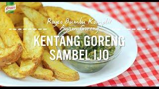 Resep Royco - Kentang Goreng Sambel Ijo