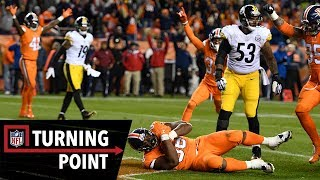 How a DL Went Against a Play for a Game-Winning Interception in Week 12   NFL Turning Point