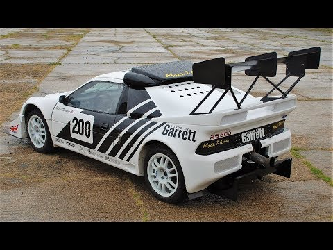 1000Hp Ford RS200 Evolution // Pikes Peak Hill Climb 2012