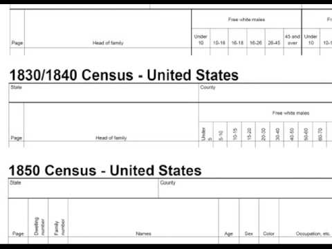 Making A Quick Census Reference Form