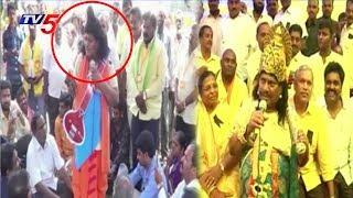 ఎంపీ శివప్రసాద్ వినూత్న నిరసన..! | Chittoor MP Siva Prasad Variety Protest