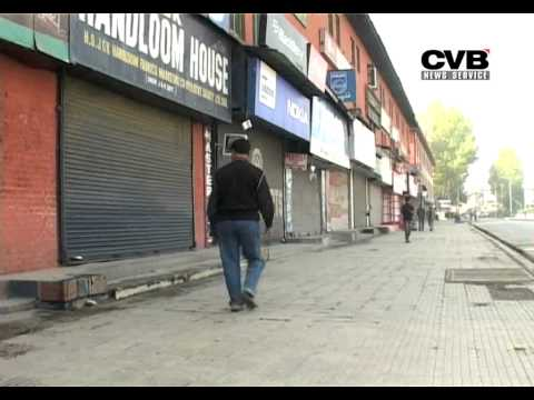 J AMMU & KASHMIR: SEPARATISTS CALL SHUTDOWN TO PROTEST LANDING OF INDIAN TROOPS IN 1947