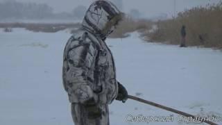 Зимняя рыбалка на (паук) подъёмник