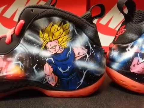 Nike Dragon Ball Dragon Ball z Foamposite