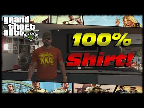 GTA 5 100% Completion T-Shirt Reward For Franklin! 100 Percent GTA V Completion Q&A!