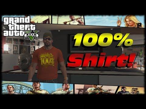 GTA 5 100% Completion T-Shirt Reward For Franklin! 100 Percent GTA V Completion Q&A!
