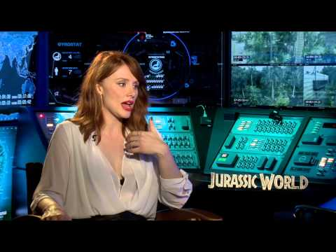 Bryce Dallas Howard Jurassic World Interview Jurassic World Bryce Dallas