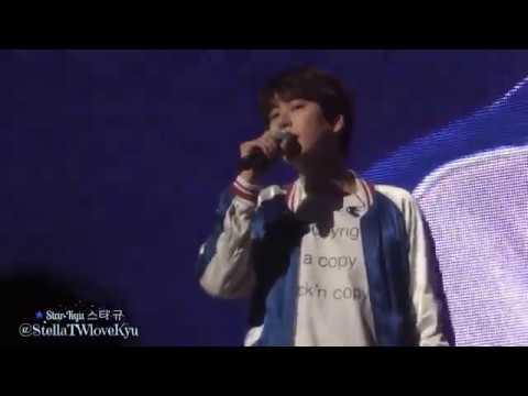 [Fancam] 170520 Kyuhyun Fanmeeting - Beautiful (Goblin OST)