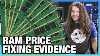 HW News - RAM Price Fixing Evidence, CPU Shortage Through March
