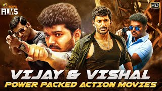 Vijay & Vishal Power Packed Action Movies HD | South Indian Hindi Dubbed Action Movies |Indian Films