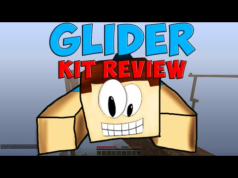 Glider Kit Review   Minecraft Hunger Games   mcpvp.com
