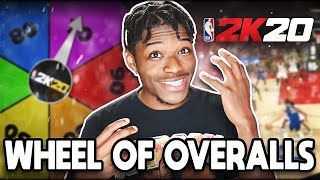 SPIN THE WHEEL OF OVERALLS IN NBA 2K20 MYTEAM