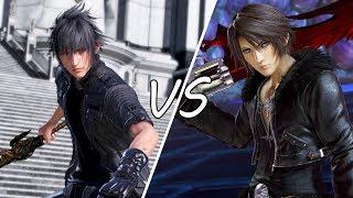 Dissidia Final Fantasy NT (DFFNT) - 1v1 Noctis vs. Squall