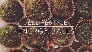 Home made energy balls. ทำขนมเพื่อสุขภาพเอง.   jeelifestyle