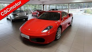 Ferrari F430 Coupe - 2007   Revisión en profundidad y encendido