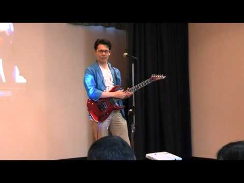 Paul(ポール)のギター演奏を隠し撮り!!