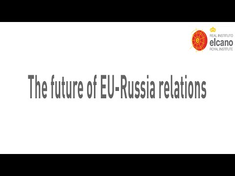 Jason Rheinberg. The future of EU-Russia relations