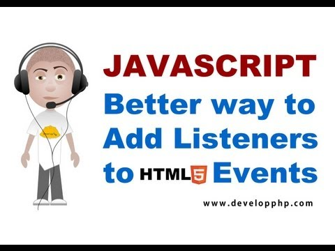 Events And JavaScript: Part 1 - Event Handling