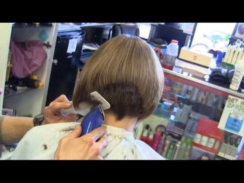 Suzy S Graduated Bob Aline Clipper Haircut Video Youtube