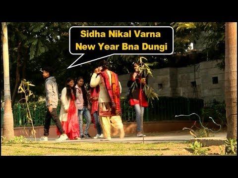 Best Prank 2019 | Sidha Nikal Varna Happy New Year Bna Dungi | Pranks In India | Bc babey