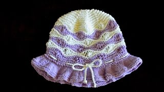 How to Knit Wave Pattern for a Hat