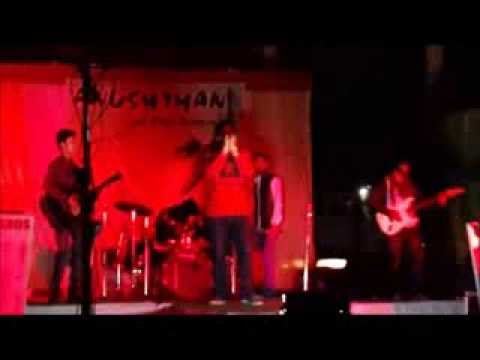Tum Hi Ho(rock Version)+jal Sajni+saiyaan(intro Verse)...by Anushthan-the Band video