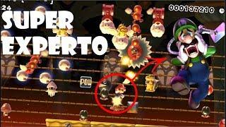 POR ESTO JUEGO MARIO MAKER 😫 | ¿NIVELES PARA MASTERS?!😨 2da Pt. [SUPER EXPERTO] SUPER MARIO MAKER