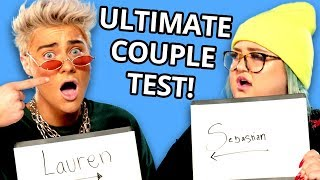 Lauren Godwin & Sebastian Bails Play The Newlywed Game! | VS