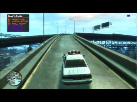 Grand Theft Auto 4 Cop Stories with Modding