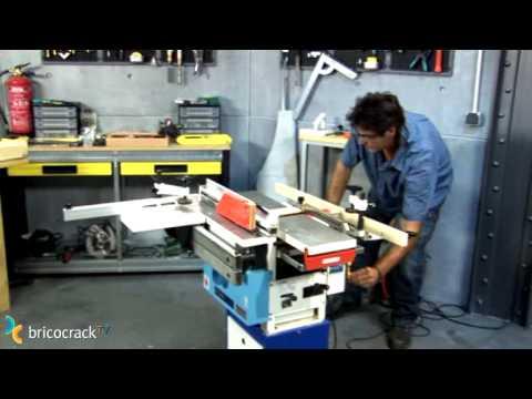 M quinas estacionarias para madera bricocracktv youtube - Mesa de trabajo bricolaje ...