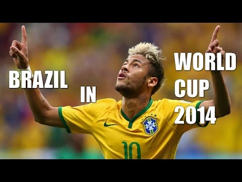 Brazil in World Cup 2014●All goals highlight● All emotion● All Celebrations lHD