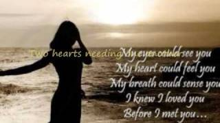 Celine  Dion ~Where Does My Heartbeat Now lyrics