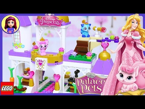 Lego Disney Princess Palace Pets Royal Castle Build Review Silly Play - Kids Toys