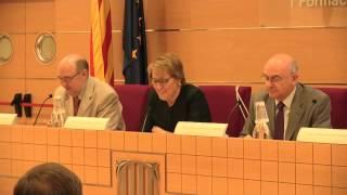 Inauguració de la jornada Justícia i transparència