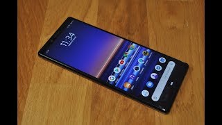Sony XPERIA 1 first look
