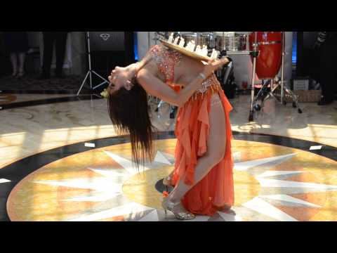 Belly Dancing By Sultana At Bishay Magdy Faris And Kristy Wedding July 12, 2014 video