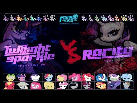 Let's Play MLP:FiM [My Little Pony:Fighting is Magic Complete Edition EP1] N'Meow.P'Ender