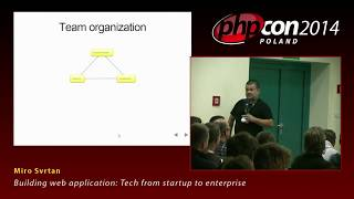 Miro Svrtan: Building web application: Tech from startup to enterprise