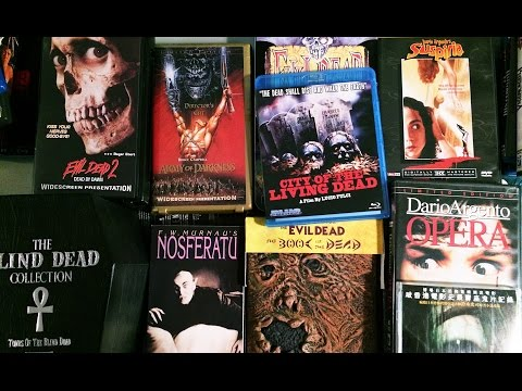 Cool Horror Movies & Collector's Editions on Blu-ray, DVD & VHS
