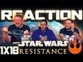 "Star Wars Resistance 1x18 REACTION!! ""Descent"