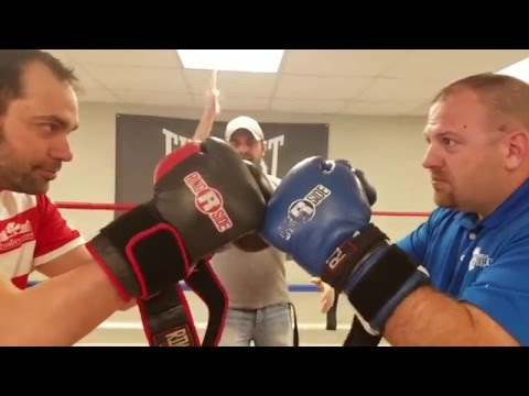 Police Chief and Radio Personality Put On the Gloves to Box for Kids