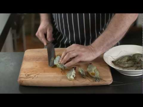 How To - butterfly prawns